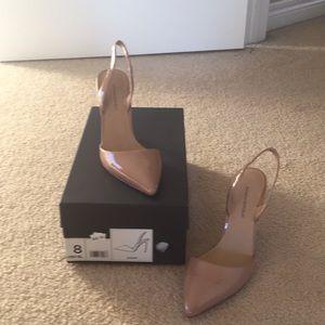 Banana Republic Blush patent leather heels